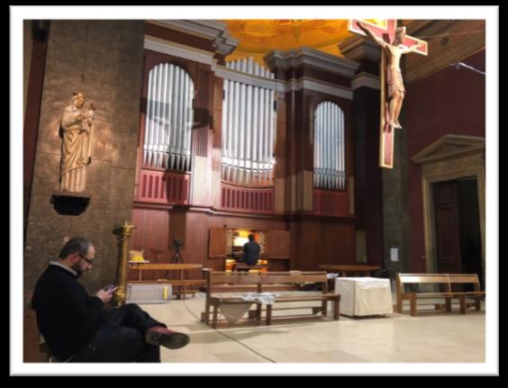 Philippe Mouisset Bel Astre Voyageur with CantarX3 Eglise de St Pothin – Lyon