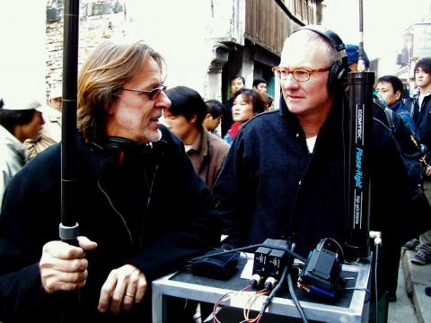 Don Coufal and I in China shooting Mission Impossible III