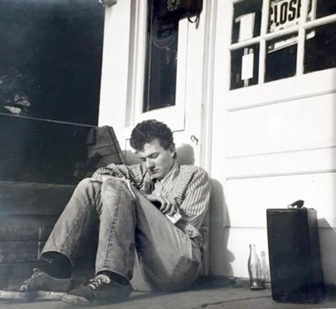 Me at 19 when I was still tramping around the USA trying to emulate Jack Kerouac