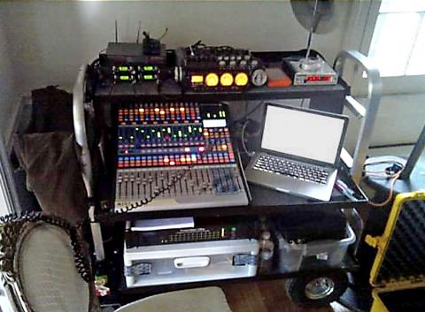 My first sound cart with my original CantarX-2