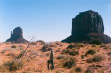 Shooting a documentary, using the CantarMini in Monument Valley. October 2020