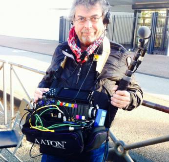 Production sound mixer Philippe Mouisset with CantarX3 la Grange à Sons